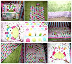 enchanting owl crib bedding girl owl crib bedding set for girls baby girl owl crib bedding sets