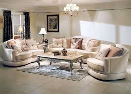 Luxury Living Rooms Furniture Awesome Decoration