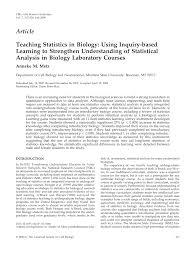 Main Inquiry Documents Analysis Chart Answer Key Pdf Teaching Statistics In Biology Using Inquiry Based