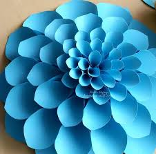 diy paper flower template extra large rose template diy paper flower backdrop for wedding events