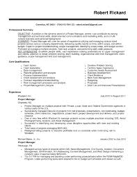 Resume Examples Maintenance Objective For 17 Excellent Sample