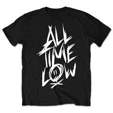 All Time Low T Shirt Design Details About All Time Low Official Scratch Logo Mens Black Short Sleeve T Shirt Pop Punk
