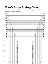 Mens Shoe Measurement Chart Pin By Jon Morris On Shoe Size Charts Shoe Size Chart