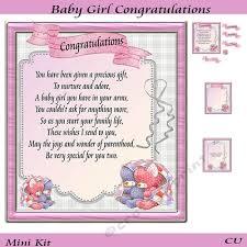 Baby Girl Congratulations Mini Kit
