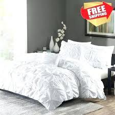 king size bedding sets asda ruched bedding set king size bed white duvet cover shams 4