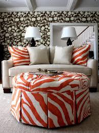 Orange Living Room Furniture Tangerine Tango Decorate With Pantones 2012 Color Of The Year Hgtv