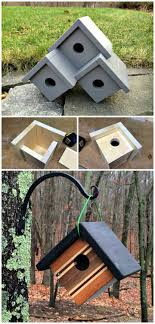 easy how to build three birdhouse plans