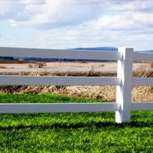 3 Rail Vinyl Horse Fence Wholesale Vinyl Fencing