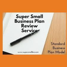 Super Small Business Plan Review – Standard Plan Model – Super Small Biz