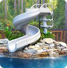 backyard pool with slides. Want To Build A Backyard Water Park? Adding 360° Pool Slide Will Make  Your The Talk Of Town, With Neighborhood Kids Showing Up At Doorstep, Slides R