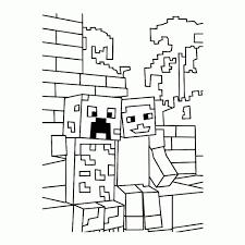 Minecraft Kleurplaat Herobrine Ausmalbild Minecraft Enderman Within