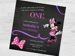 Minnie Mouse Invitation Design Minnie Mouse Chalkboard Birthday Party Invitation Minnie Mouse Chalkboard Invitation Minnie Mouse Birthday Invitation Minnie Invitation