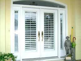 sliding french doors door design simple window blinds between glass trendy windows with mini patio w97 between