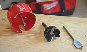 forstner bit vs spade. wood boring: spade bits, hole saws, and self feed bits   pro tool reviews forstner bit vs y