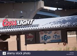 Milwaukee Light Bar Coors Light Logo Is Seen At A Bar On The Henry W Maier