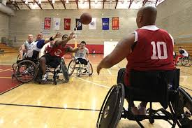u s department of defense > photos > photo essays > essay view injured marines compete in the wheelchair basketball portion of the 2011 marine corps trials at camp
