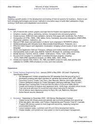 Software Testing Resume Sample Nice Qtp Sample Resume For Software
