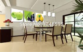 big size 3pcs modern decor restaurant dining room wall art decor apple grape lemon wall art on modern wall art for dining room with big size 3pcs modern decor restaurant dining room wall art decor
