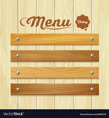 I Wood Design Menu Wood Board Design Background