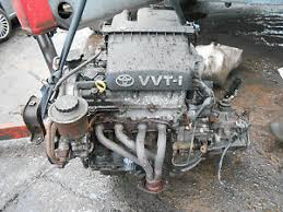 TOYOTA YARIS MK1 2001 1.0 16V COMPLETE ENGINE & 5 SPEED MANUAL ...