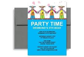 Microsoft Word Party Invitation Template Jennifermccall Me