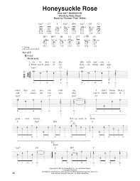 Honeysuckle Rose By Django Reinhardt Real Book Melody Lyrics Chords C Instruments Digital Sheet Music