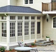 Lexington MA Sunroom Builder - Exterior transom window
