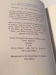 cathedral raymond carver com books