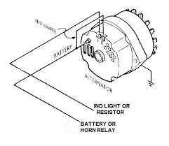 internally regulated alternator w external regulator? ford ford internal regulator alternator wiring diagram at Internally Regulated Alternator Wiring Diagram