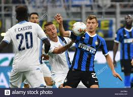 SERGEJ MILINKOVIC SAVIC LAZIO AND NICOLò BARELLA INTER during Inter Vs  Lazio , Milano, Italy, 25 Sep 2019, Soccer Italian Soccer Serie A Men  Champion Stock Photo - Alamy