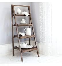 wooden ladder shelves rustic wooden ladder shelving unit wooden corner ladder shelves