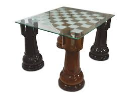 etched glass giant chess table from megachess