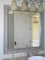 Bathroom: Bathroom Mirror Frames Beautiful Bathroom Simple Mirror Frames  For Bathroom Decorate Ideas -
