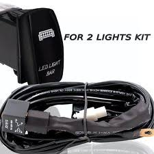 universal fog light wiring harness ebay Fog Light Wiring Harness universal led fog light wiring harness fuse laser rocker switch relay 12v 40a fog light wiring harness kit