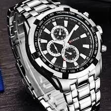 online get cheap classic mens watches top 10 aliexpress com curren top brand luxury men s watches men wrist quartz watch military casual full steel clocks male men sport classic clock 8023