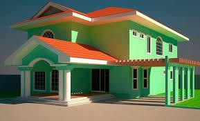 five bedroom house. joyce 5 bedroom house plan gh¢.2,650 five
