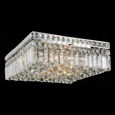 brizzo lighting stores  bossolo transitional crystal square