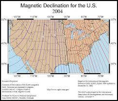 Magnetic Declination Chart Important Magnetic Declination Links For Properly Using A