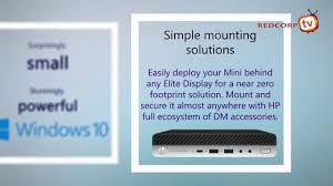 hp elitedesk 800 35w g3 desktop mini pc