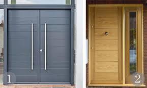 grey front doorChoosing your statement front door  Real Homes