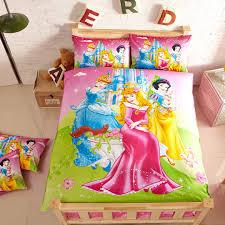 aurora snow white cinderella bedding set