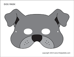 Dog coloring pages here is a fine collection of dog coloring sheets for all the dog enthusiasts. Dog Or Puppy Masks Free Printable Templates Coloring Pages Firstpalette Com