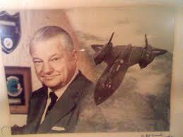 KELLY JOHNSON SIGNED PHOTO Lockheed SR-71 BLACKBIRD U2 DRAGON LADY  SKUNKWORKS   #1818475403