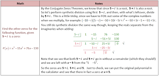 write the equation of a sine function that has given conjugate zeros theorem problem graphing and finding roots of polynomial functions she loves math
