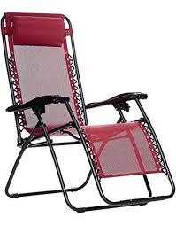 Folding patio chairs Brown Amazonbasics Zero Gravity Chair Amazoncom Patio Chairs Amazoncom