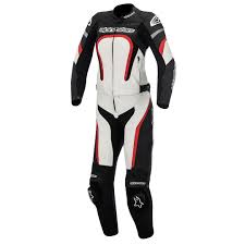 alpinestars stella motegi two piece las leather suit women s clothing motorcycle black white red