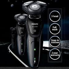 Máy cạo râu Cao Cấp 3 Đầu Lưỡi nhãn hiệu Philips S5079 chức năng Khô & ướt  - Hàng nhập khẩu