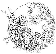 free printable fairy coloring pages for adults. Wonderful Fairy This Is Fairy Coloring Pages For Adults Pictures Good Free  Printable Only  On Free Printable Fairy Coloring Pages For Adults G