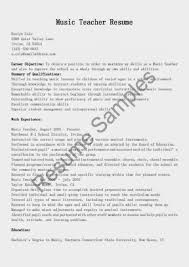 Music Resume Template How To Make A Musical Resume Hvac Cover Letter Sample Hvac 56