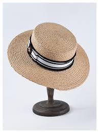 <b>USPOP 2019 New</b> women Sun hat female wide brim raffia straw hat ...